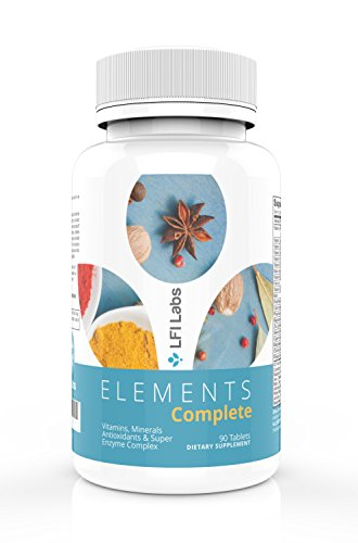 Elements Complete Multivitamin Superfood Vitamin Mineral Antioxidant Probiotic Enzyme Superfood