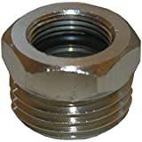LASCO 10-0013 Brass 1/2-Inch MIP X 3/8-Inch Female Compression Water Supply Connection