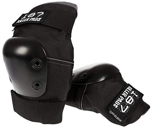 Elbow Pro Pads Designed - 187 Killer Pads Pro Elbow Pads - Black - Large