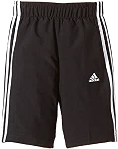 adidas YB ESS 3S WV SH - Pantalón Corto para niño, Color Negro/Blanco, Talla 92