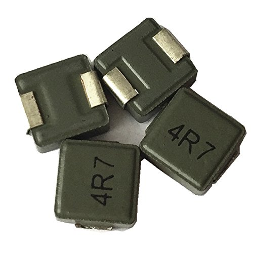 50ea fixed shield inductor 4.7uH surface mount 4R7 chip power inductor transformer 6X6X3mm by Hondark