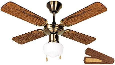 Orbegozo CL 02105 M Ventilador de techo con luz, 50 W de potencia ...