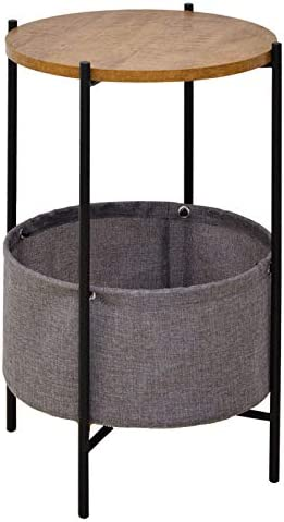 AINATU Round Side Table/End Table