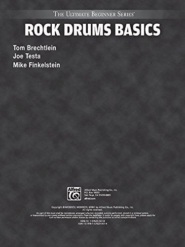 Ultimate Beginner Rock Drums Basics: Steps One & Two, Book & CD (The Ultimate Beginner Series) (Ultimate Beginner Series Rock)