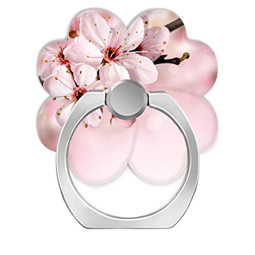 LoveStand-Cell Phone Ring Holder 360 Degree Finger Ring Stand for Smartphone Tablet and Car Mount-Cherry Blossoms - Phone Cherry Blossom