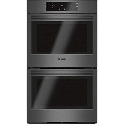 Bosch 30″ Black Stainless Steel 800 Series Double Wall Oven