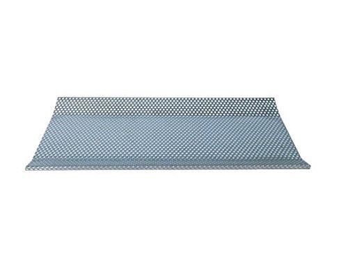 "Justrite 27006 26-Gauge Coated Steel Sediment Screen, 35"" Length x 13-3/4"" Width x 3/4"" Depth, For 22 Gallon Floor Standing and Bench Top Rinse Tank"