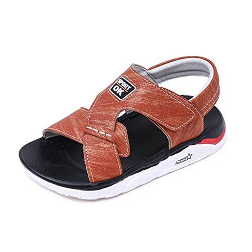 Walker Anti Shock Single - GIY Children Boys Sport Outdooer Sandles Soft Sole Open Toe Anti-Skid Flat Athletic Shoes Summer Beach Sandals