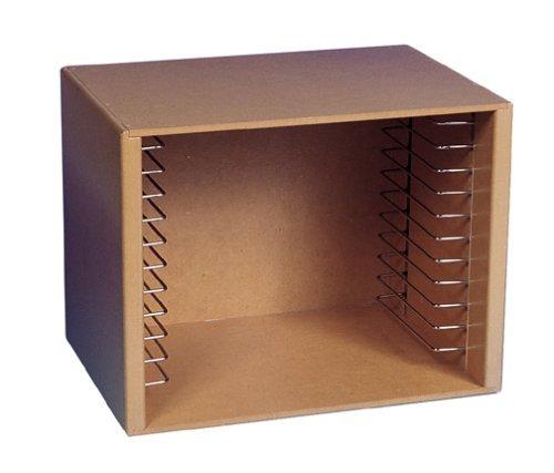 (Melissa & Doug Natural Wood Puzzle Storage Case (Holds 12 Puzzles) (Renewed))