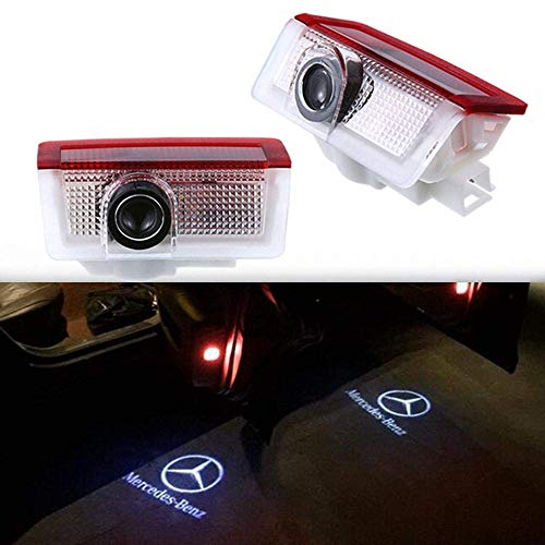ighting Entry Ghost Shadow Projector Welcome Lamp Logo Light for Merecedes-BenZ Series (2 Pack) ()