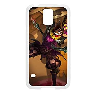 Shaco-002 League of Legends LoL For Case Samsung Note 3 Cover - Plastic White
