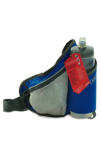 Camelbak Delaney Fit Hydration WaistPack with Podium Bottle (46 Cubic-Inch, Skydiver Blue/Egret White), Outdoor Stuffs