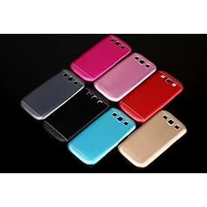 LHY Special Design Metal Hard Back Cover Case for Samsung S3/I9300 (Assorted Color) , Pink