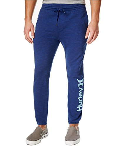 Hurley Men's Warwick Dri-fit Fleece Joggers (XX-Large, Obsidian)