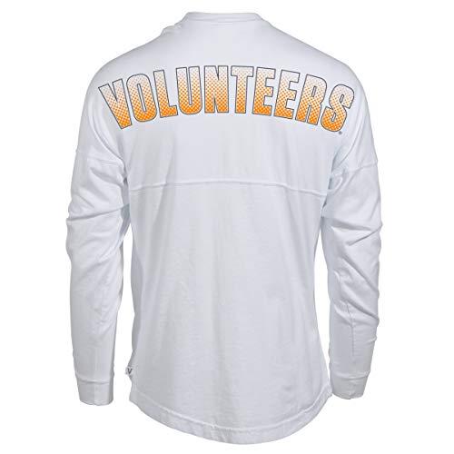 Official NCAA Tennessee Volunteers Womens Long Sleeve Spirit Wear Jersey T-Shirt ()