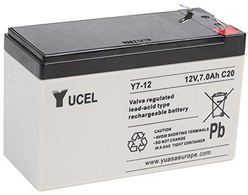 Yuasa Y7-12 - Valve Regulated Lead Acid Battery (12 warranty)