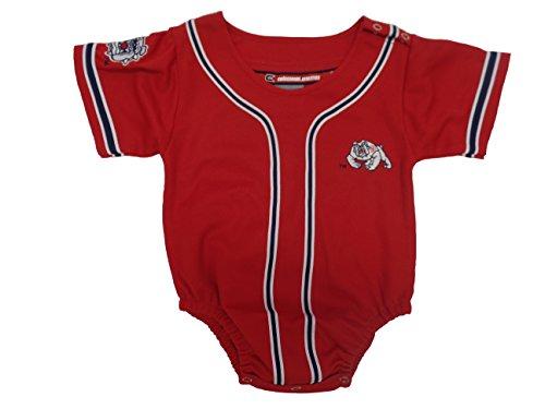 Fresno State Bulldogs Baseball Infant/baby Onesie Jersey 0-12 (Fresno State Bulldogs Baseball)