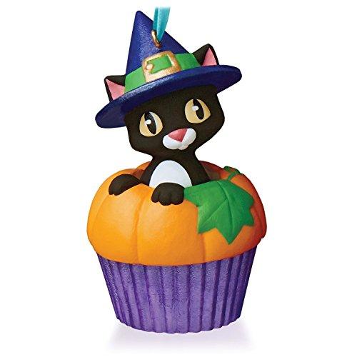 Hallmark Keepsake Ornament Punkin' Kitty Keepsake Cupcake Series 2015