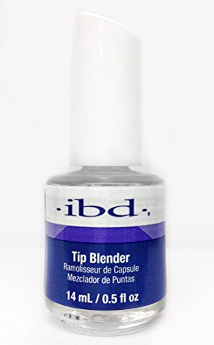 (ibd Tip Blender Applied to the seam area of the nail tip, the Tip Blender will melt down the tip, making it faster and easier to blend your nail tips. - Size 0.5 floz 14ml)