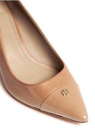 2ca55f1fe3e Tory Burch  Fairford  Sand Leather Pointy Toe Pump 36517 (Women)   Amazon.ca  Shoes   Handbags