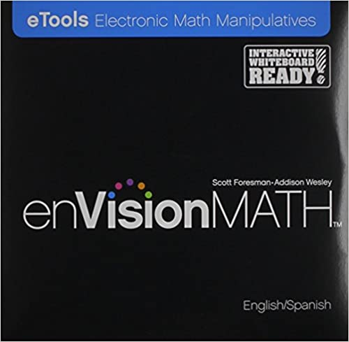Envisionmath, eTools Electronic Math Manipulatives (English and Spanish Edition): Scott Foresman: 9780328306084: Amazon.com: Books
