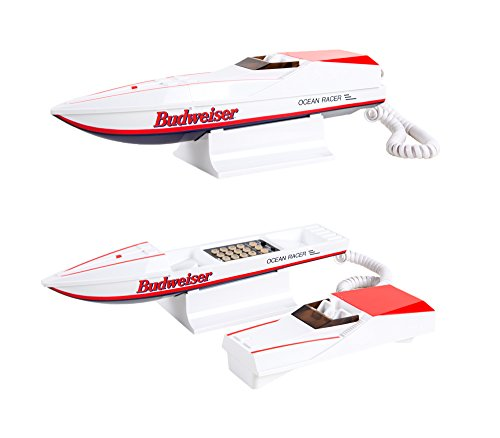 Budweiser Ocean Racer Speed Boat Home Phone Telephone
