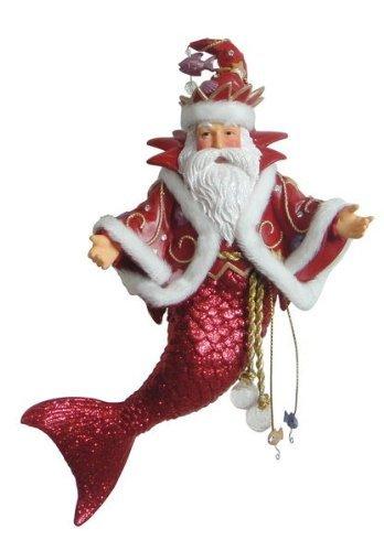 December Diamonds King Neptune Merman Ornament
