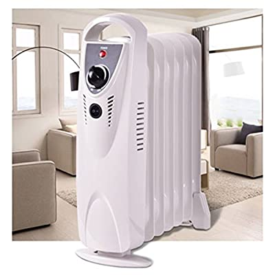 Portable Heat 700W ComforTemp Electric Oil Filled Radiator Heater Thermostat Room Radiant Heat