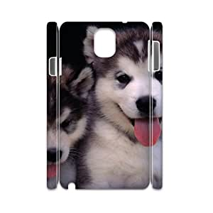 Customized Case for Samsung galaxy note 3 N9000 3D - Lively dog ( WKK-R-82237 )
