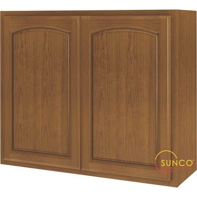 Kitchen Cabinet Oak 2-Dr 36×30