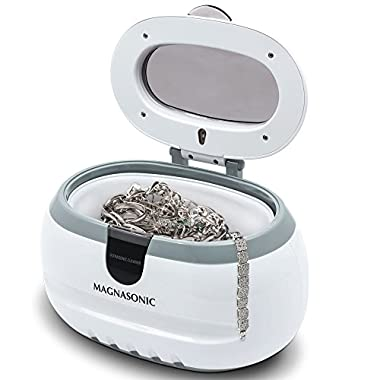Magnasonic Professional Ultrasonic Jewelry Cleaner for Cleaning Eyeglasses, Rings, Coins