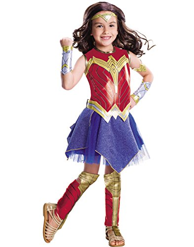 Wonder Woman Movie Child's Deluxe Costume, Large -