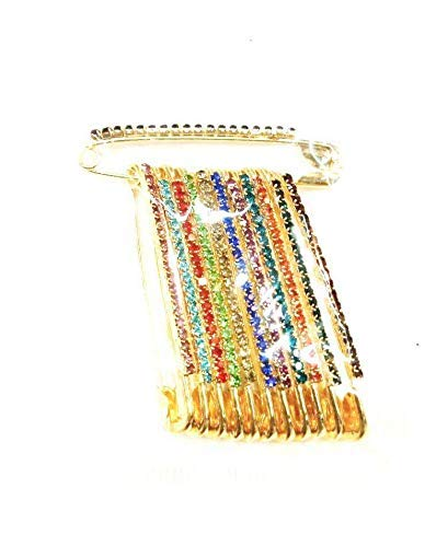 dorado Paquete de alfiler de ropa varios tama/ños surtidos