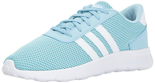 adidas Kids' Lite Racer Sneakers, Ice Blue/White/Energy Aqua, (12 M ()