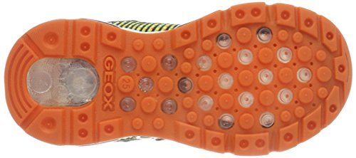 Geox Android a, Zapatillas Para Niños Negro (Black/orange)
