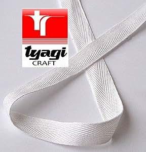 10 mm Cintas para de Sarga costureros cinta de la tela cruzada Tyagi Craft