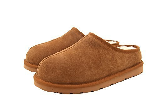 Pictures of SUPERLAMB Ladies Sheepskin Hard Sole Clog Slippers ( 1