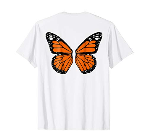 Halloween Costume Butterfly Wings Shirt - Butterfly Fairy T-shirt