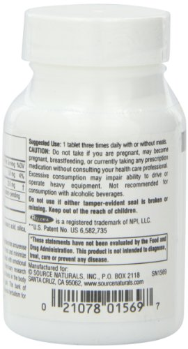 Source Naturals Relora, 250mg, 90 Tablets (Pack of 2) by Source Naturals (Image #3)