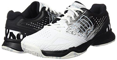 Wilson Bleu Comp Tennis Hommes De Perle Pour Blanc Noir Chaussures Kaos qwCSEpx7