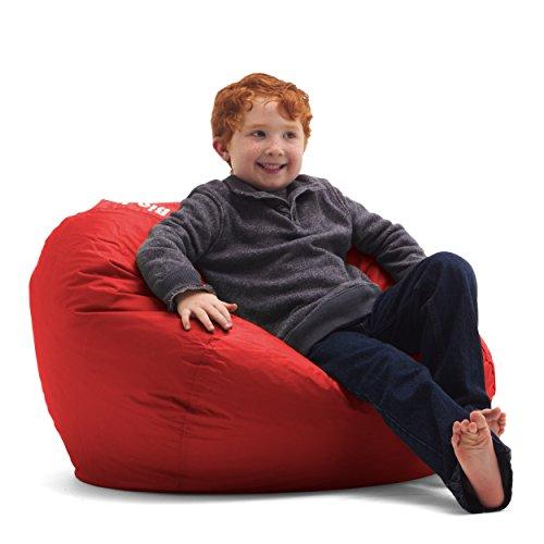 Big Joe Bean Bag, 98-Inch, Flaming Red Red Cloth Game Chair