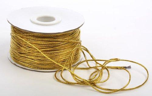 100 Yard Spool (Metallic Gold Tinsel Cord - 100 Yard Spool)