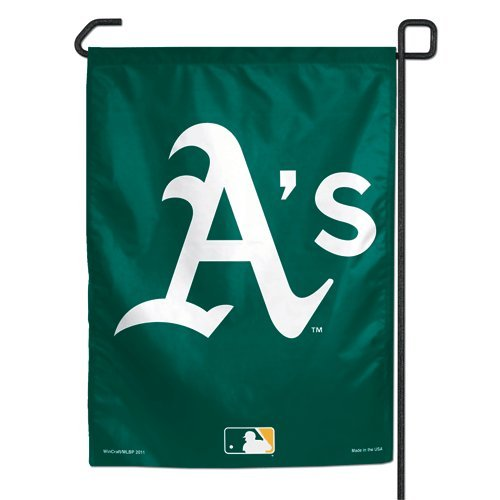 Oakland Athletics Garden (MLB Oakland A's WCR68413011 Garden Flag, 11