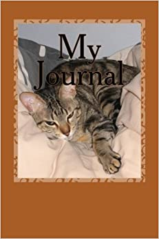 Book My Journal: A 6 x 9 Lined Diary (Notebook, Blank Book)