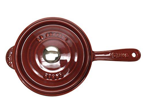 Staub Saucepan 3 QT, Red