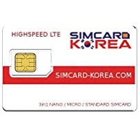 LTE simcard Corea - Highspeed Surf and make phone calls