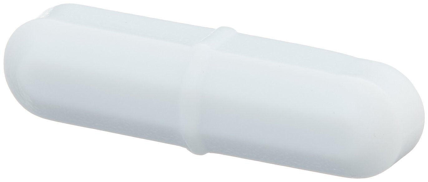 Bel-Art Spinbar Teflon Octagon Magnetic Stirring Bar; 25.4 x 8mm, White (F37110-0001)