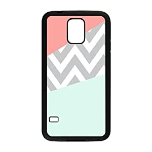 Coral Chevron ZLB549438 Brand New Phone Case for SamSung Galaxy S5 I9600, SamSung Galaxy S5 I9600 Case