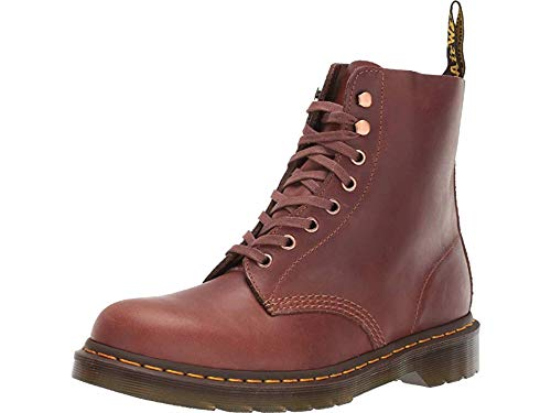 Dr. Martens Unisex 1460 Pascal Core Tan / Polo Brown Soapstone / Hi Suede Waterproof 13 M UK