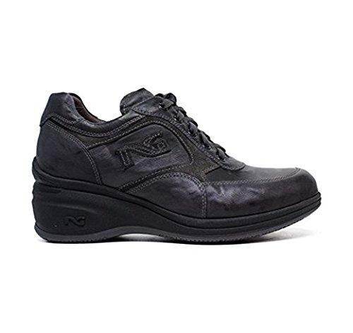Nero Giardini Sneakers donna colore A616080D 109 Piombo Made in Italy